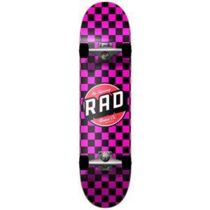"""Τροχοσανίδα Rad Checkers 2 Dude Crew Comp.Black/Pink 7,75"""""""
