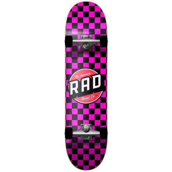 Τροχοσανίδα Rad 2020 Checkers 2 Dude Crew Comp.Black/Pink 7,75''