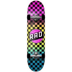 """Τροχοσανίδα Rad 2020 Checkers 2 Dude Crew Comp.Neon Fade 7,75"""""""