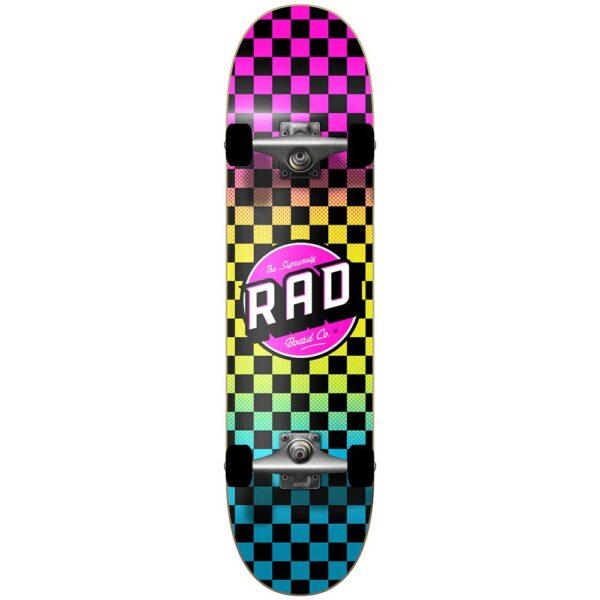 Τροχοσανίδα Rad 2020 Checkers 2 Dude Crew Comp.Neon Fade 7,75''