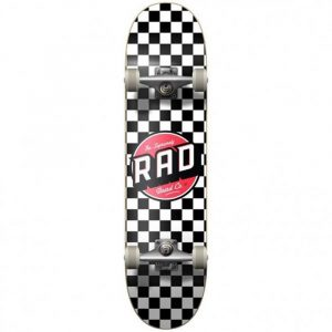 """Τροχοσανίδα Rad Checkers 2 Dude Crew Comp.Black/White 7,75"""""""