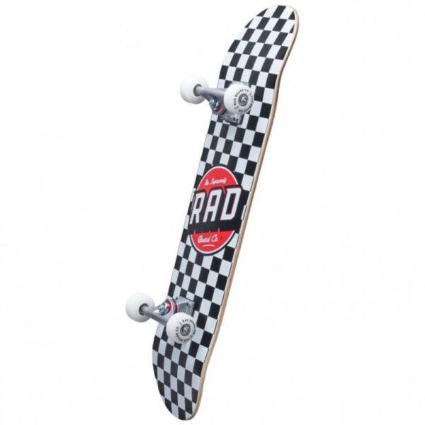 Τροχοσανίδα Rad 2020 Checkers 2 Dude Crew Comp.Black/White 7,5''