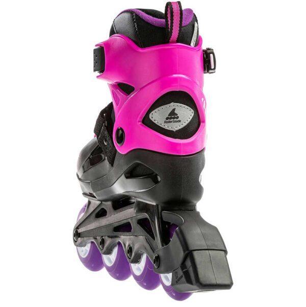 Αυξομειούμενα πατίνια Rollerblade Fury black-fuxia