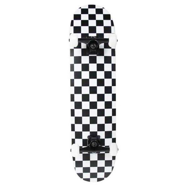 Τροχοσανίδα Speed Demons Checkers Complete White 7,5''