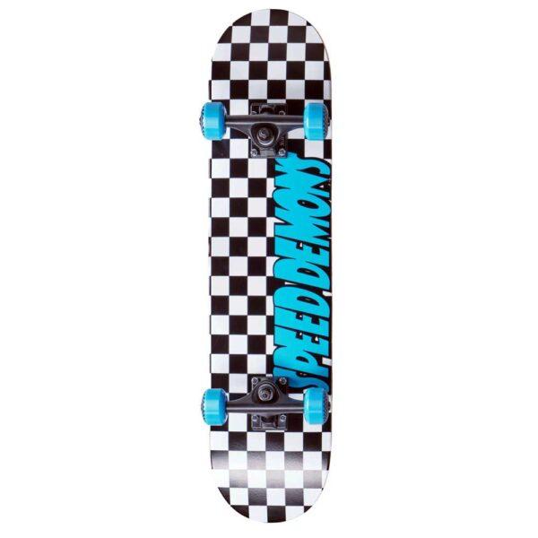 Τροχοσανίδα Speed Demons Checkers Complete Black/Blue 7.25''