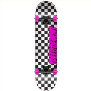 """Τροχοσανίδα Speed Demons Checkers Complete Black/Pink 7.75"""""""