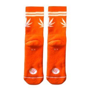 Κάλτσες Bee Unusual Pattern Stripes Orange