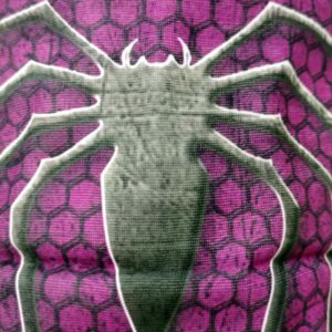 Neckwarmer Spider Purple