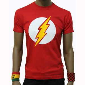 T-Shirt Flash Super Hero Red