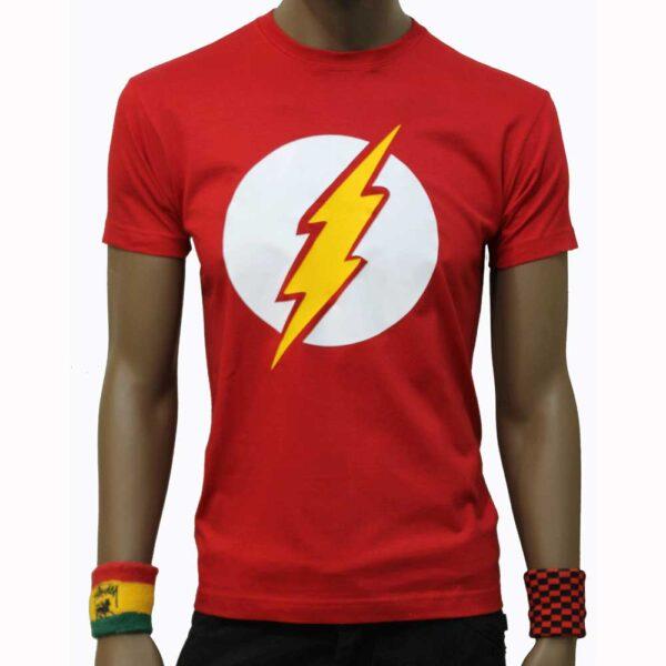 T-Shirt-Flash-Super-Hero-Red