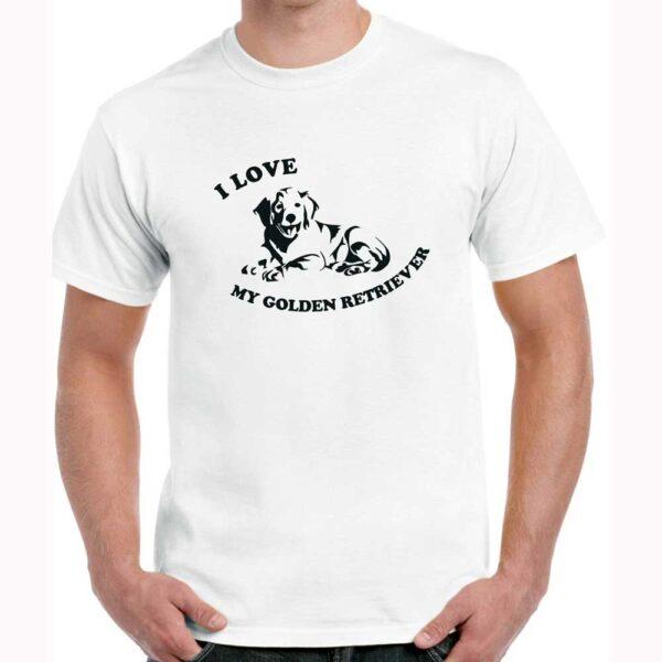 T-Shirt-I-Love-My-Golden-White