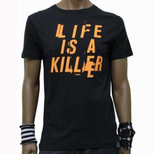 T-Shirt Insight Life Is A Killer Black