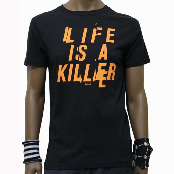 T-Shirt-Insight-Life-Is-A-Killer-Black