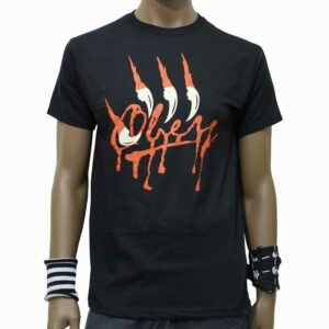 T-Shirt Obey Bloody Claws Black