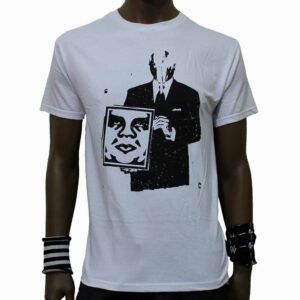T-Shirt Obey Corporate Violence White