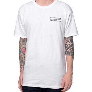 T-Shirt Obey Wake-Up White