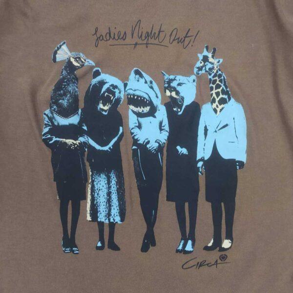T-shirt Circa Ladies Night Coffee