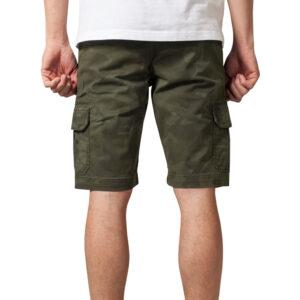 Βερμούδα Urban Classics Camo Cargo Shorts TB1612 Olive Camo