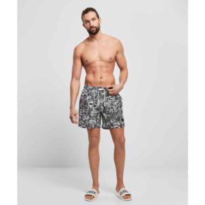 Μαγιό Βερμούδα Urban Classics Pattern Swim Shorts TattooAop
