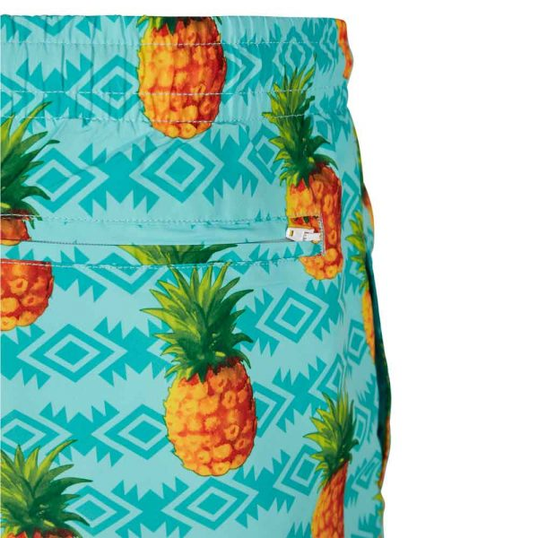 Urban Classics Pattern Swim Shorts Pineapple