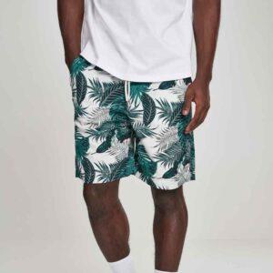 Βερμούδα Urban Classics Pattern Resort Shorts TB2736 Palm Leaves