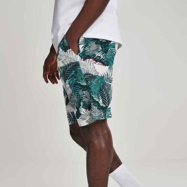Βερμούδα Urban Classics Pattern Resort Shorts Palm Leave