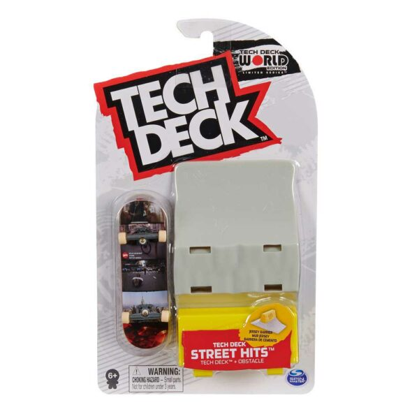 Μινιατούρα τροχοσανίδα Tech Deck με ράμπα Hopps