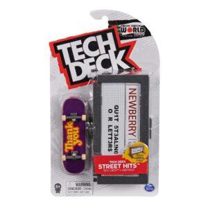 Μινιατούρα τροχοσανίδα Tech Deck με ράμπα Thank you