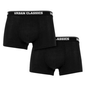 Εσώρουχο Urban Classics Modal Boxer Shorts Double-Pack Black
