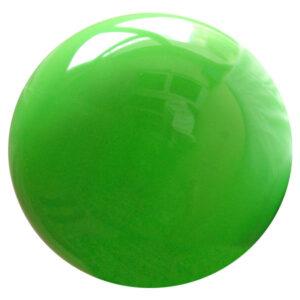 Μπάλα ρυθμικής γυμναστικής, μονόχρωμη, πράσινη