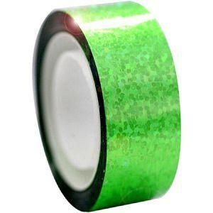 Αυτοκόλλητη ταινία Diamond με μεταλλικό χρώμα, πράσινη
