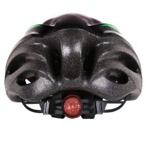 Κράνος ποδηλάτου αυξομειούμενο,με φως, μαύρο
