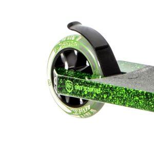 Πατίνι Elite Black Green Marble/Black, 110χιλ.