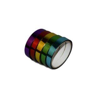 Αυτοκόλλητη ταινία με μεταλλικό χρώμα