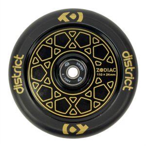 Ροδάκι Zodiac 110χιλ., Gold/Black