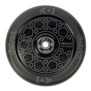 Ροδάκι Zodiac 110χιλ., Black