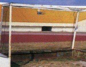 Δίχτυ ποδοσφαίρου στριφτό, πορτοκαλί, 3χιλ.