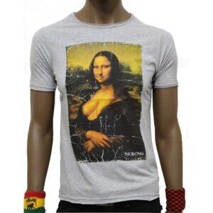 T-Shirt Bigbong Joconda Grey
