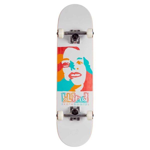 Τροχοσανίδα Psychedelic Girl FP Premium White 7,75''