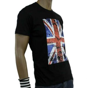 T-Shirt English Flag Black