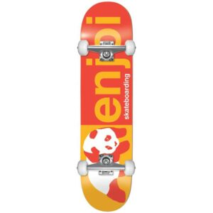Τροχοσανίδα Enjoi Half and Half FP Complete Skateboard Red/Yellow 8″