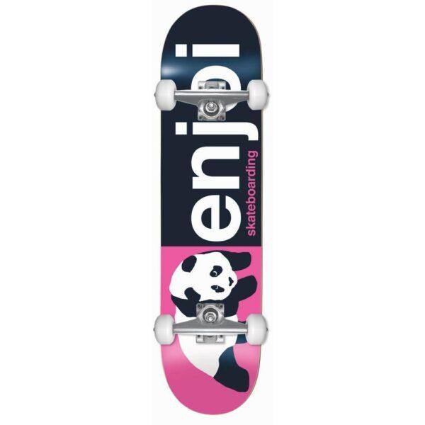 complete skateboard enjoi half and half fp pink 8'