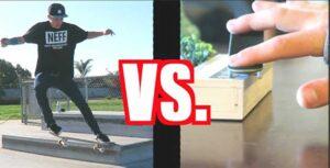 Fingerboard Vs Skate