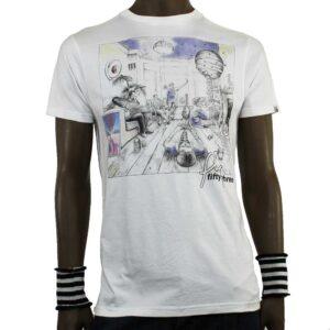 T-Shirt Fly53 Super Smile White