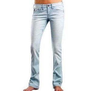 Fox w's pants Hi-Fi 50538 denim