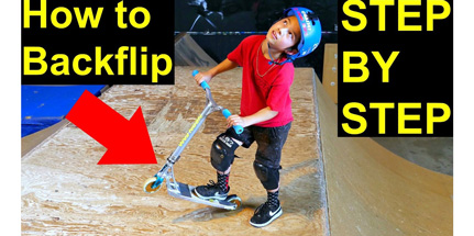 You are currently viewing How to Backflip on a scooter!