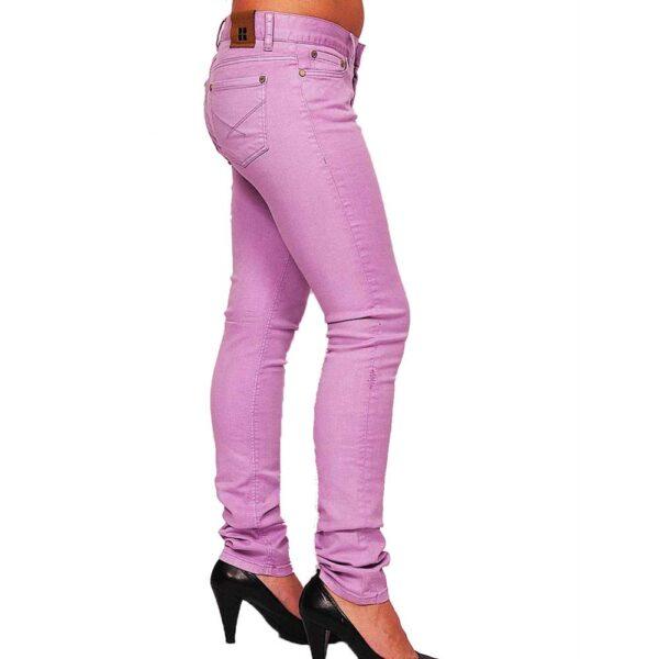 insight beanpole purple pant