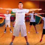Γυμναστική στο σπίτι για παιδιά