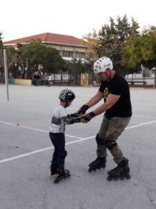 Μαθήματα Rollers στο 2ο Δημοτικό Σχολείο Καλαμαριάς !