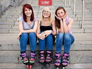 3 αδερφές και τα inline skates τους